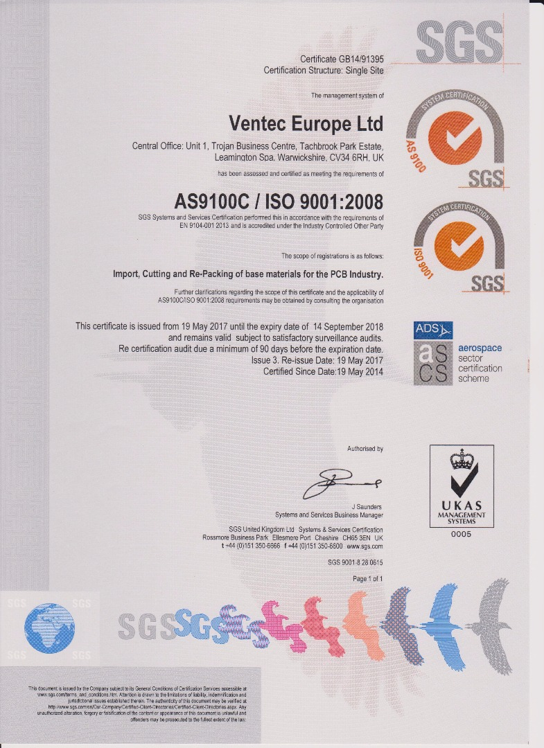 Approvals and accreditations ventec international group download xflitez Images